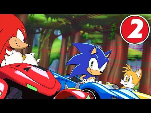 team sonic racing overdrive: part 2 - youtube   sonic the