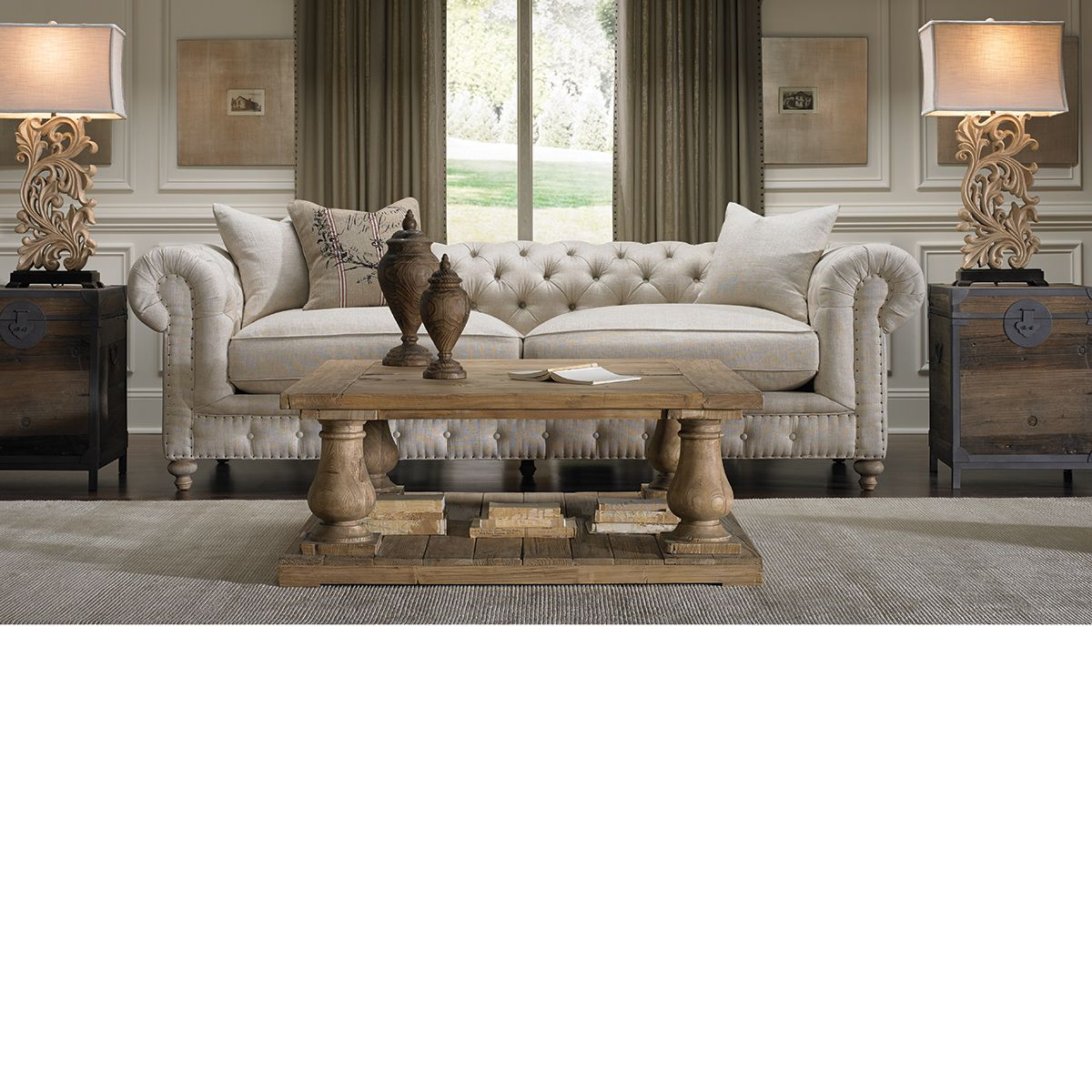THE ICONIC CHESTERFIELD SOFA