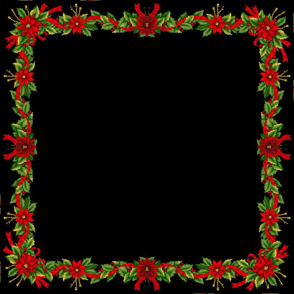 Large Christmas Transparent Png Photo Frame Christmas Photo Frame Christmas Frames Christmas Wreath Frames