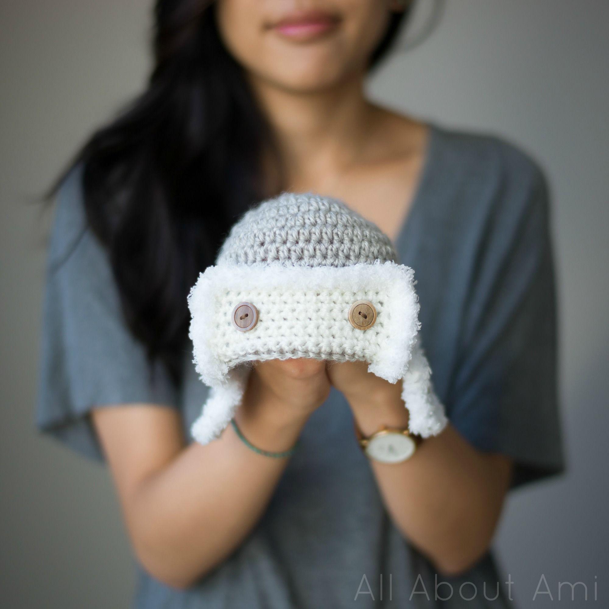 Baby Aviator Hat   Crochet baby boy hat, Crochet baby hats ...