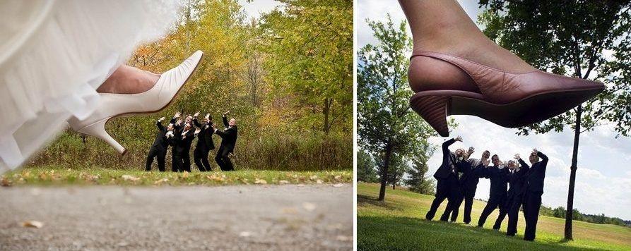 ideas fotografas divertidas novios bodas