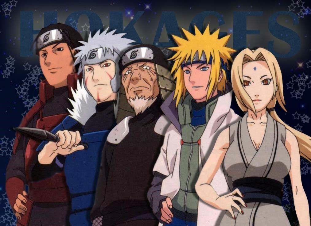 Daftar Tokoh dan Karakter Manga/Anime Naruto Naruto