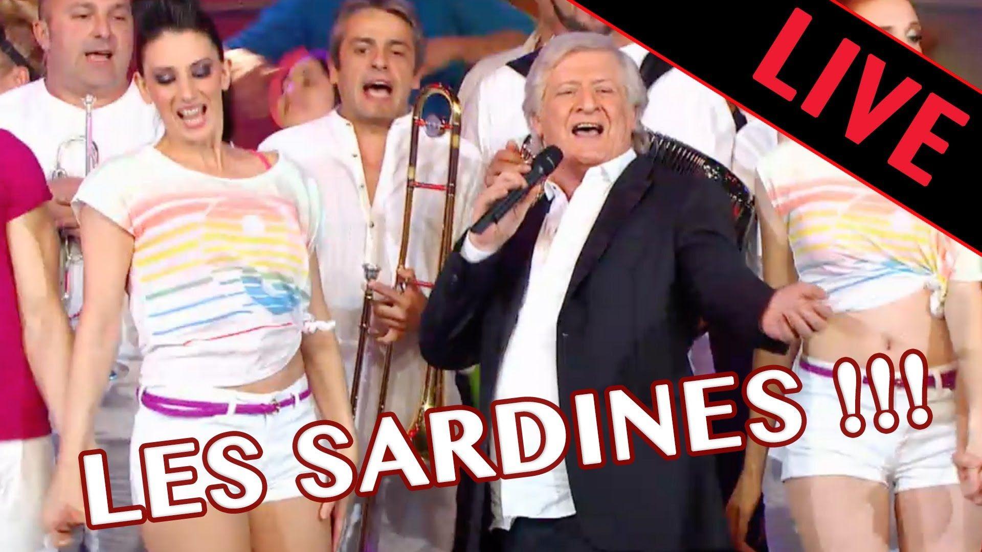 patrick sebastien les sardines