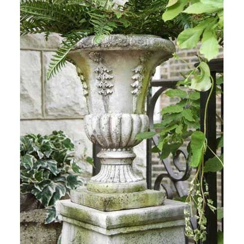 Six Sided Urn 18 H - Orlandi Statuary - Online Wholesale Catalog for Beautiful Orlandi Statuary