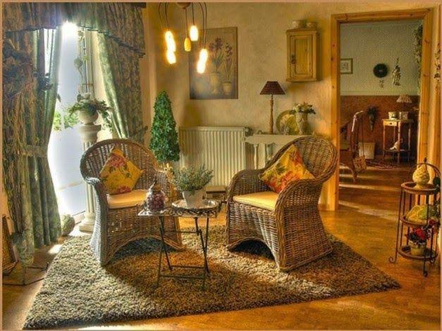 Dekorasi Ruang Tamu Klasik Dengan Karpet Tebal
