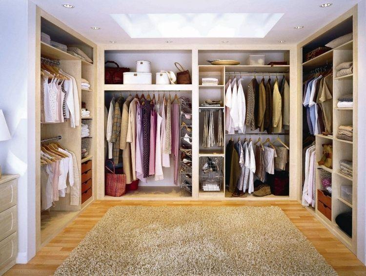 Spectacular Begehbarer Kleiderschrank selber bauen Tipps und Ideen