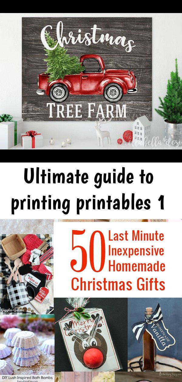 Ultimate guide to printing printables 1 Homemade
