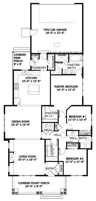 Global Houseplans Houseplans Com Bungalow Style House Plans Craftsman Style House Plans Craftsman Floor Plans