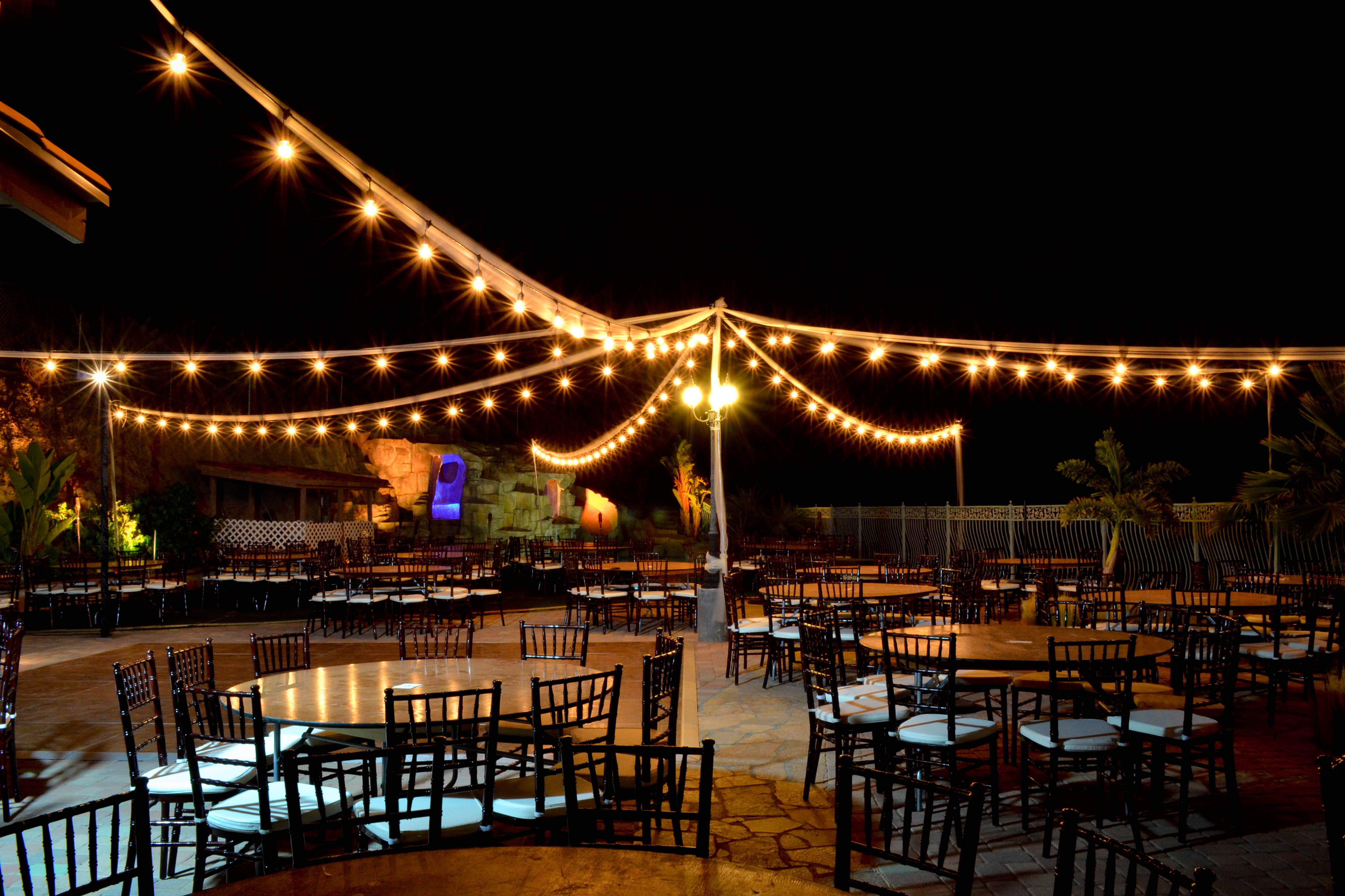 wedding overhead lighting Google Search Festoon
