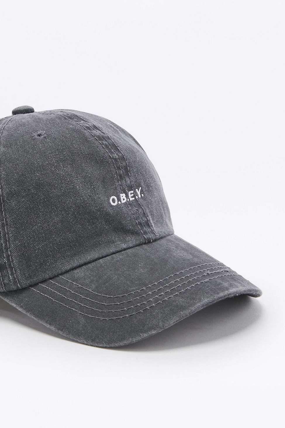Obey Quickstrike Black Cap