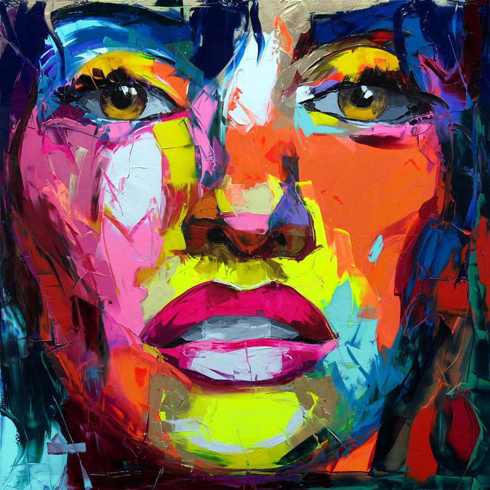 Nielly p n lope art i heart pinterest malerei - Leinwandbilder malen ...