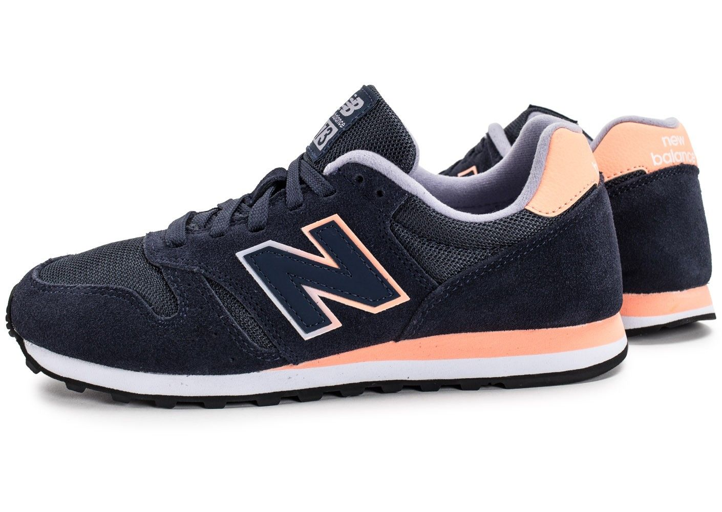 new balance wl574 rose et marine