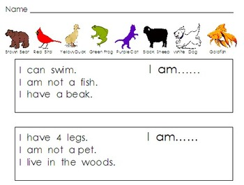 Bear Math Printables Pictures