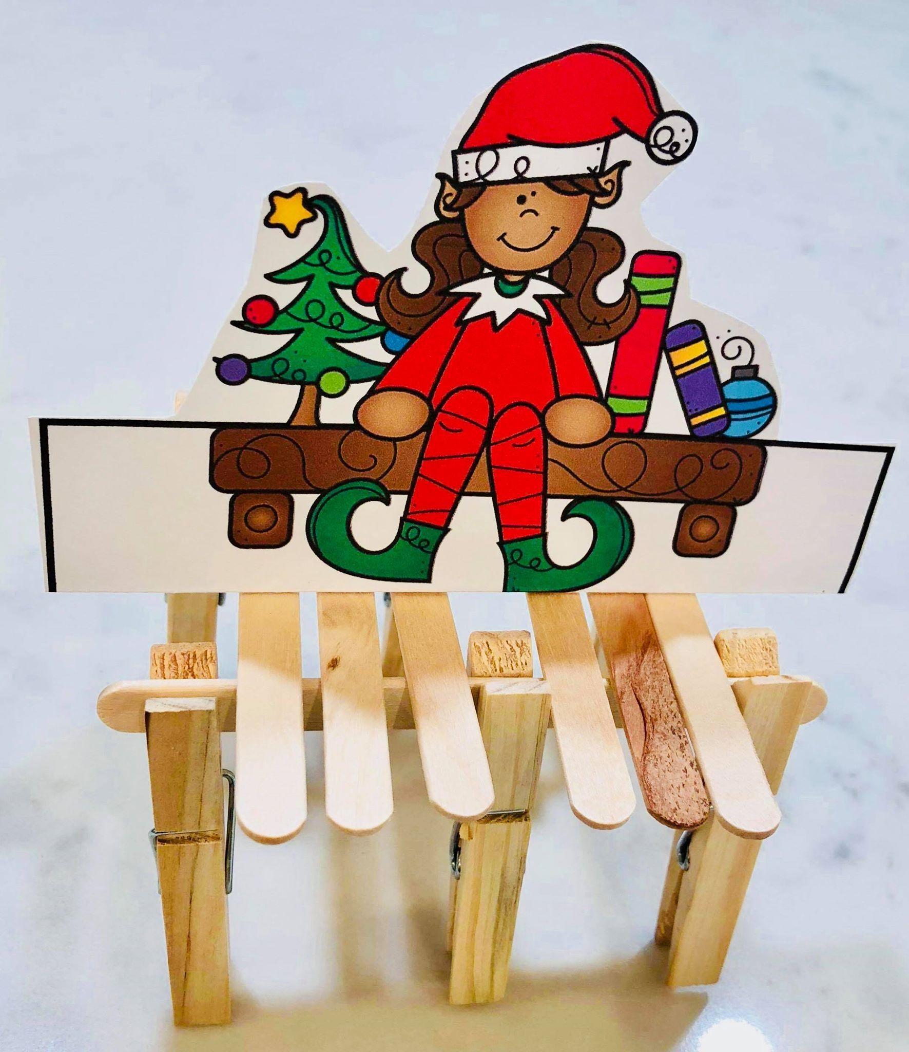 December Christmas Elf Stem Learning