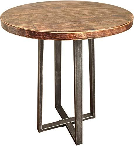 Best Seller Curved Accent Console Table Decor Storage: Best Seller Barnyard Designs Round End Table