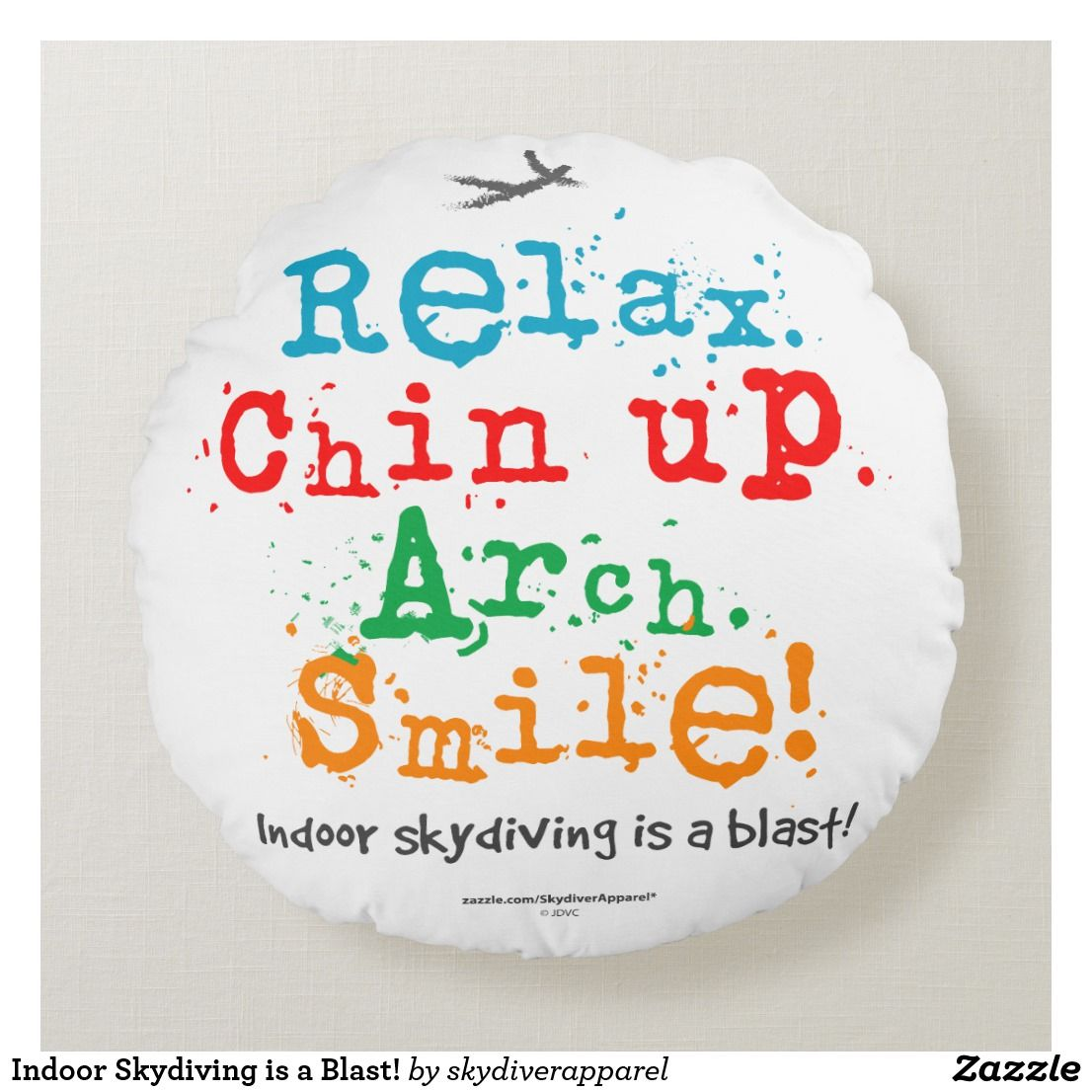 Create your own Round Pillow   Zazzle.com