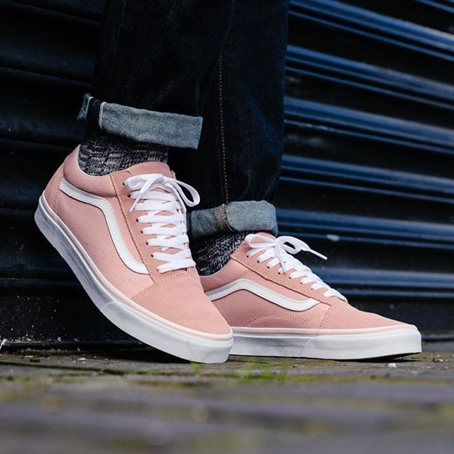 So girly ❤️❤️ Vans Ua Old Skool Pink/White Disponible ...