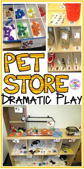 pet store dramatic play pet theme pinterest garderie maternelle et activit. Black Bedroom Furniture Sets. Home Design Ideas