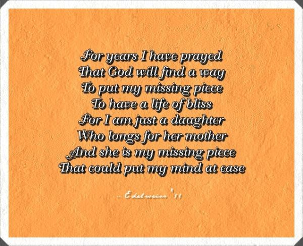 Birthday Poems For Mom From Daughter Uk Mother Daughter