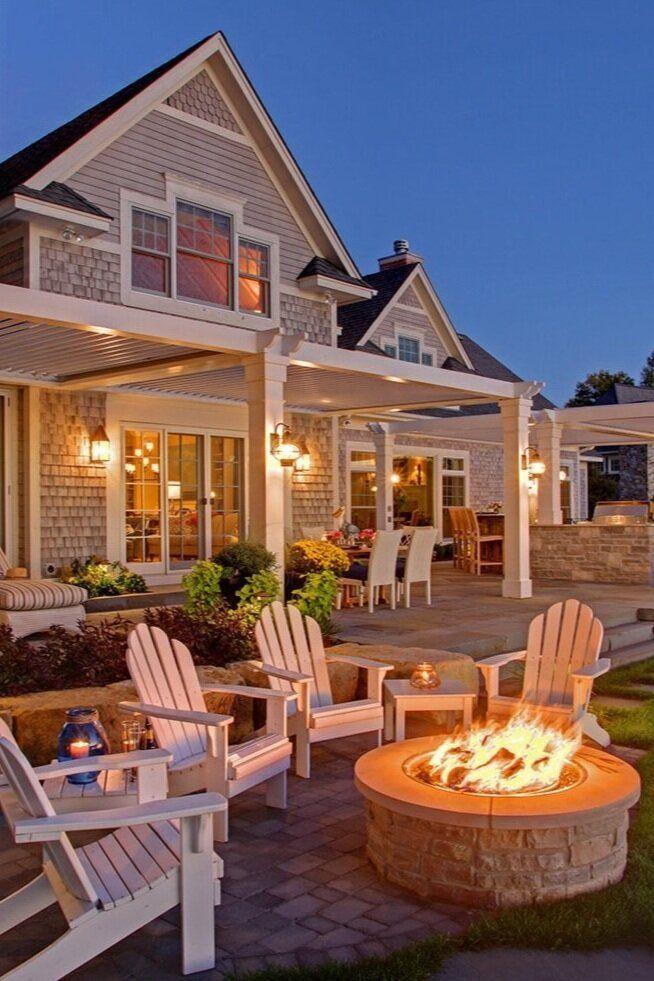 Blog in 2020   Outdoor living, Backyard, Backyard fireplace on Cheap Outdoor Living id=32582