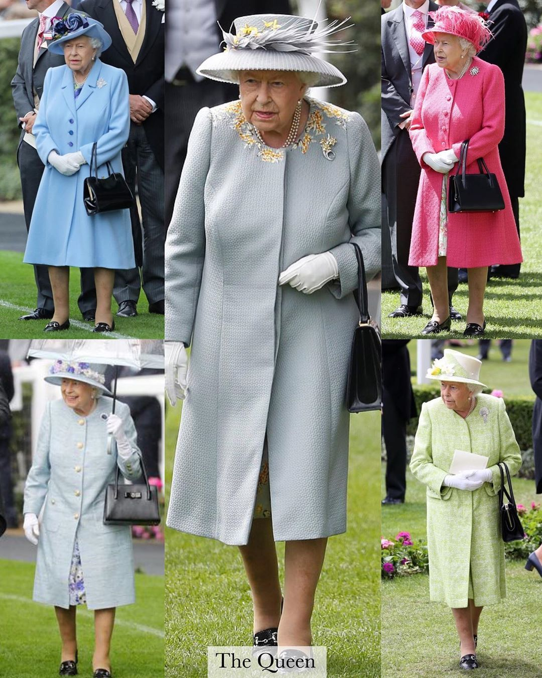 Hm Queen Elizabeth 2 Royal Ascot Having Concluded For 2019 Let S Take A Look Back At The Outfits Worn By Th Royal Ascot Queen Elizabeth Royal Family Portrait [ 1350 x 1080 Pixel ]