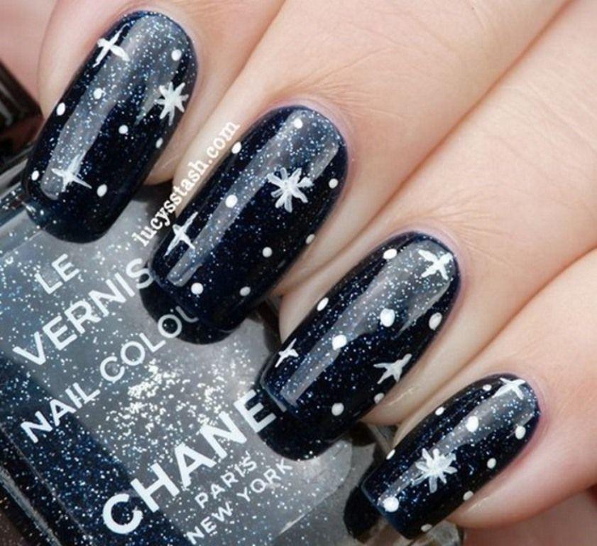 Star Nails Designs Star Nails Pinterest Star Nail Designs