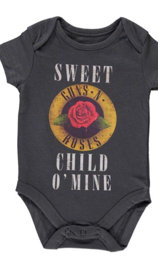 27424c54e Sweet child of mine onesie