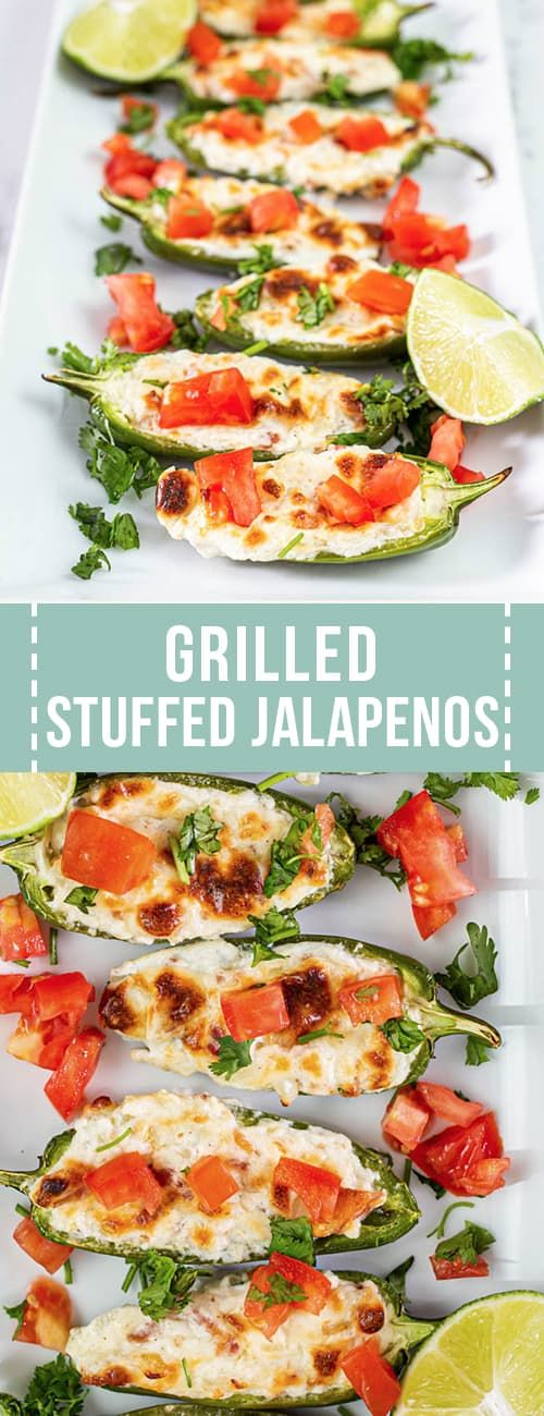 Easy Grilled Stuffed Jalapeno Pepper Recipe Is Made With A Few Easy Ingredients To Create A Grilling Appetiz Jalepeno Recipes Stuffed Peppers Appetizer Recipes