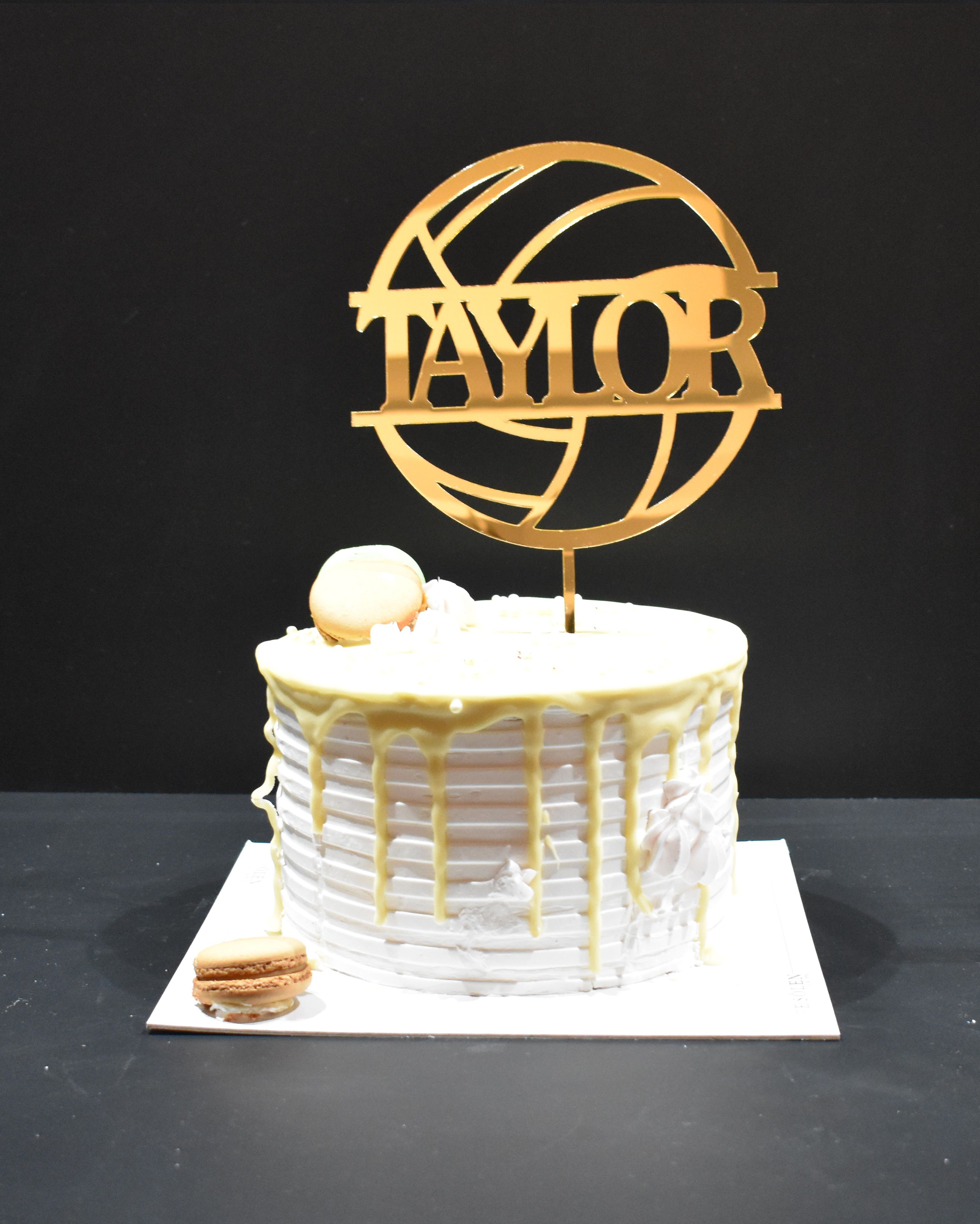Sports Cake Topper In 2020 Sports Cake Topper Volleyball Cakes Custom Cake Toppers