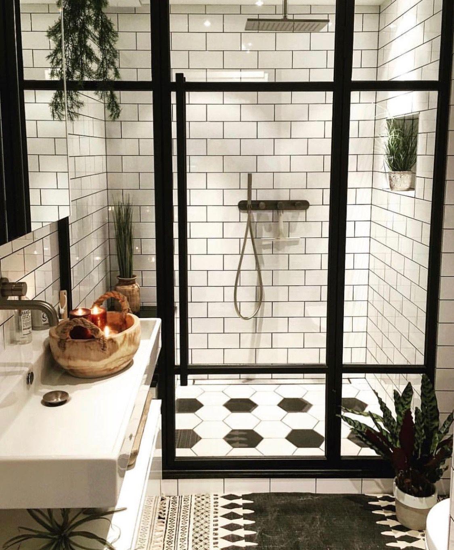 20 Black & White Bathrooms ideas   bathroom design, bathrooms ...