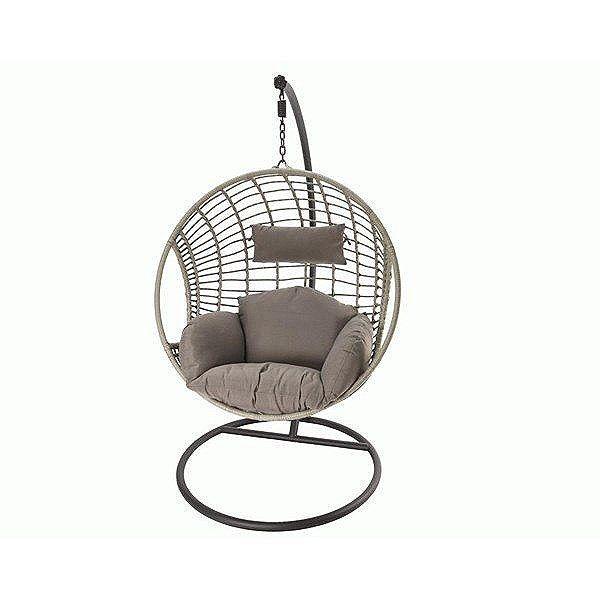 Kaemingk 186cm Wicker Hanging Garden Egg Chair - 842385 | gardening ...