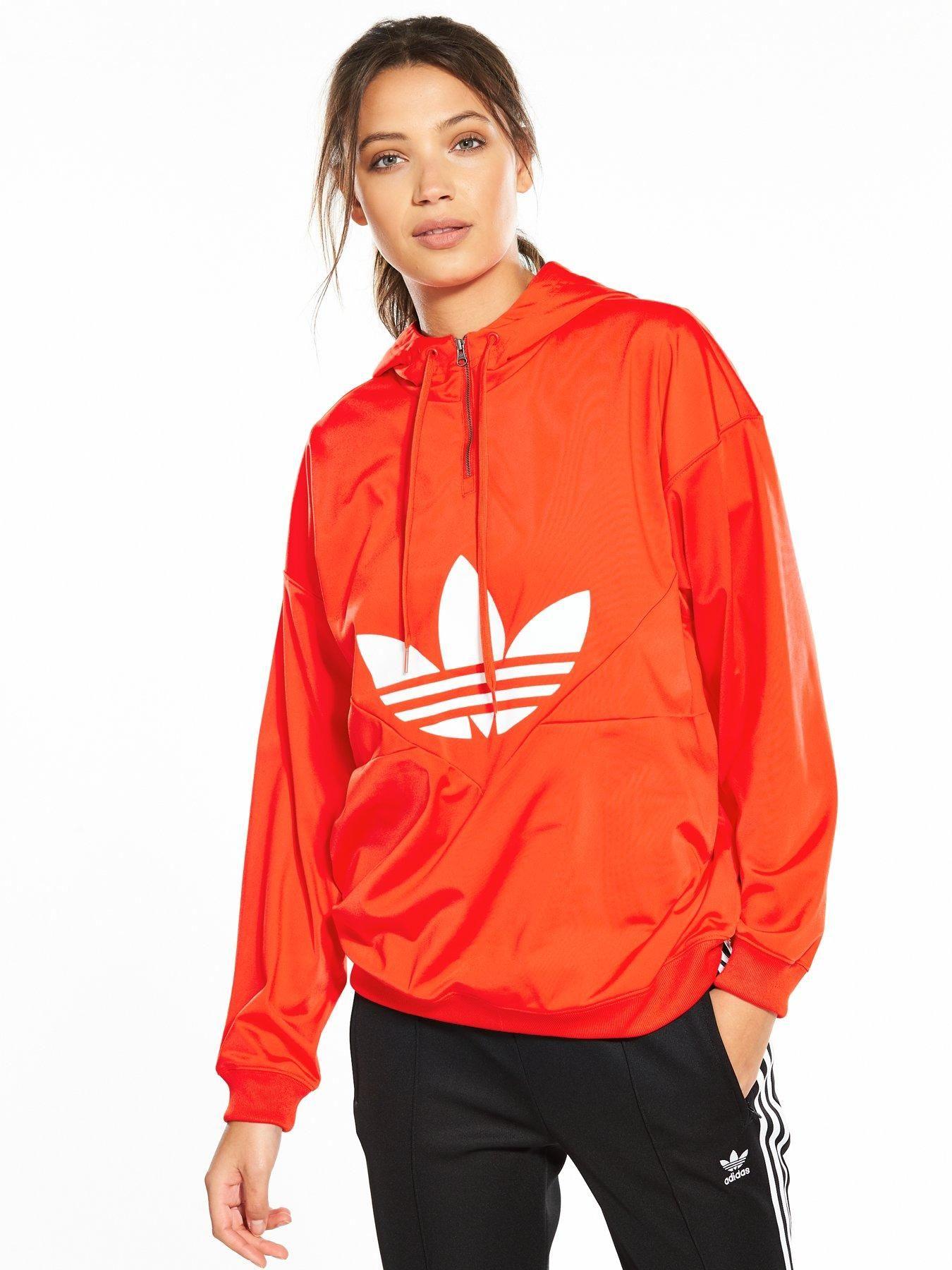 ce6ad96969a6 adidas Originals Originals Colorado 1 4 Zip Hoodie - Orange