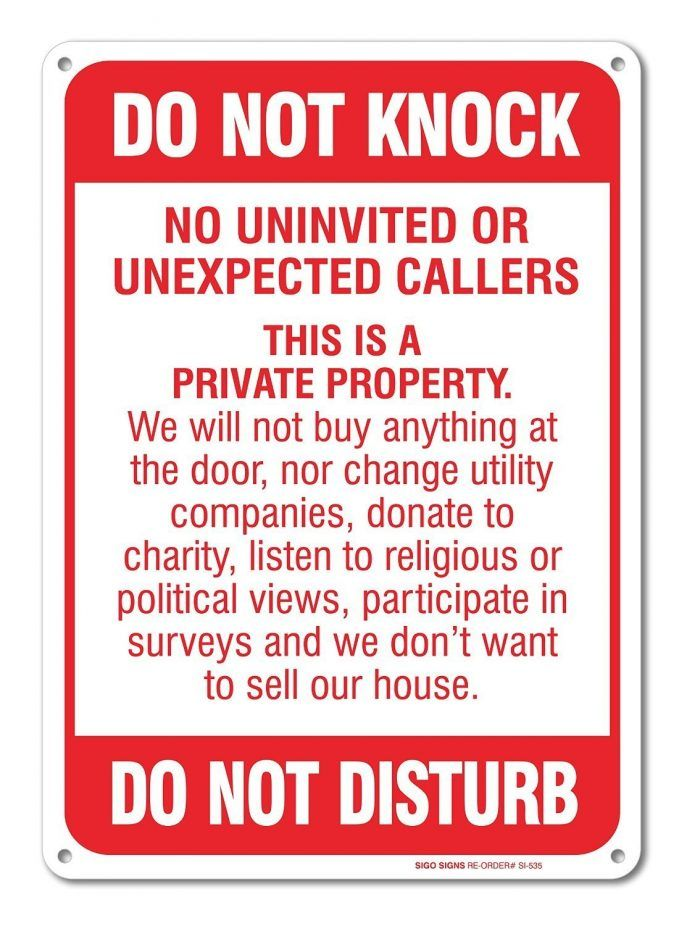 71os Auziwl _sl1500_ No Door Knockers Or Religious Callers Sign  Breathtaking Image Concept Soliciting Do Not Knock Disturb 687x926  (687×926)