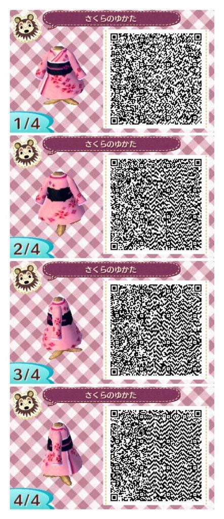 Kimono Animal Crossing Qr Animal Crossing Qr Codes Clothes