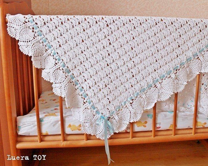 Crochet baby blanket | Cobertores de croché | Pinterest | Para bebés ...