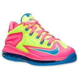 bd38172ccdd8 Boys  Grade School Nike LeBron 11 Low Basketball Shoes