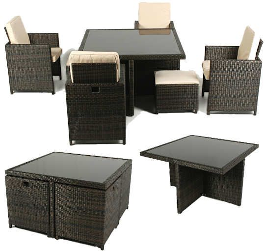 ellister corsica rattan patio furniture cube set 4 seater the ellister corsica rattan patio furniture set is a cube set meaning that the four chairs and