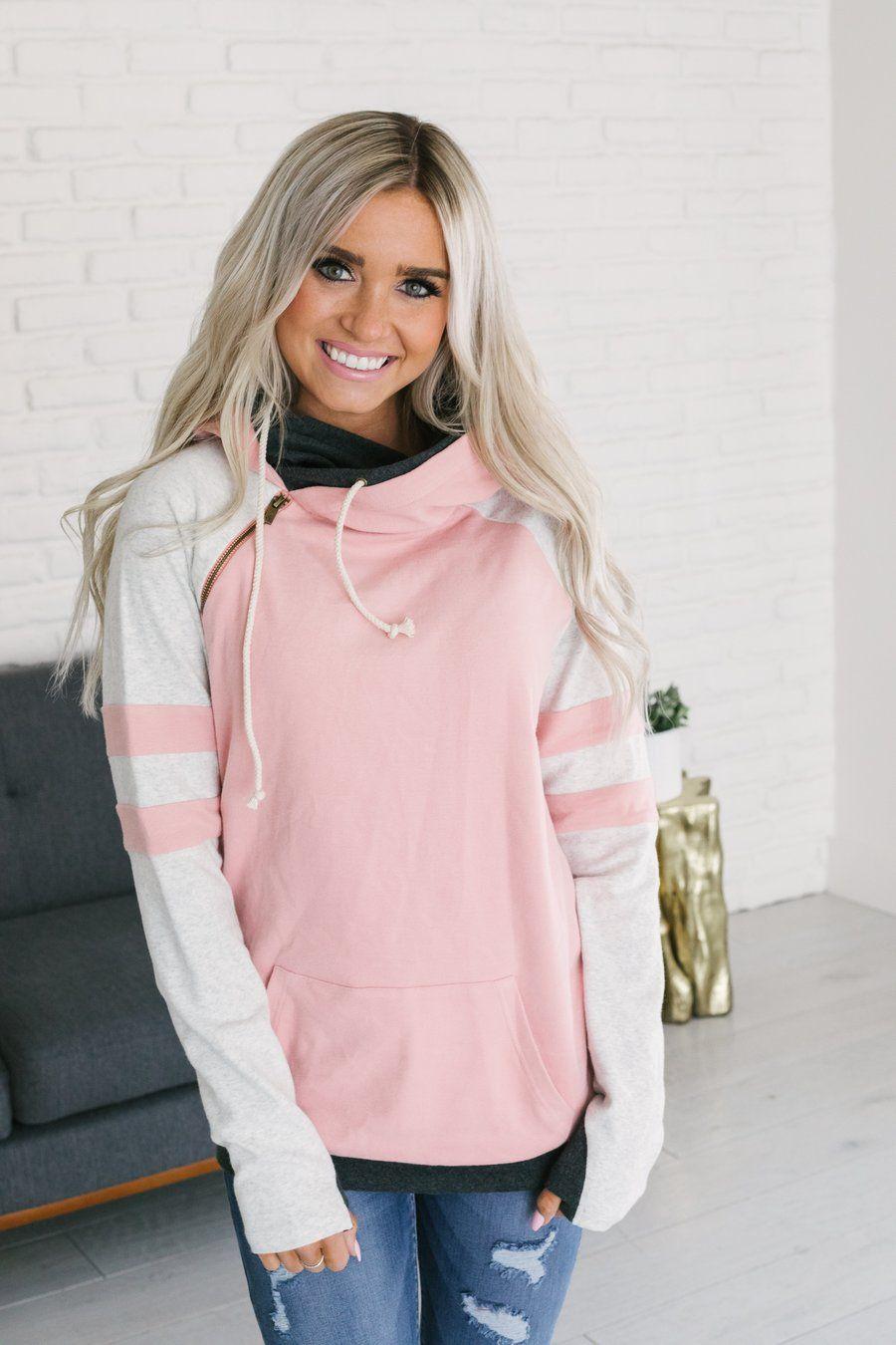 Original Source For A Doublehood This Adorable Pink Double Hooded Sweatshirt Is The Perfect Pink Sweatshirt Double Hooded Sweatshirt Double Hoodie Sweatshirt [ 1350 x 900 Pixel ]