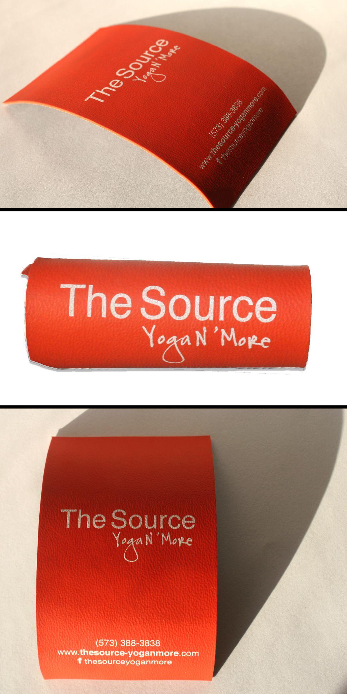 Yoga Mat Business Card   design and marketing   Pinterest ...