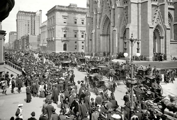 #TBT: St. Patrick's Cathedral circa 1904. #NYC