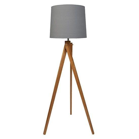 Wooden Tripod Floor Lamp From Sainsburys