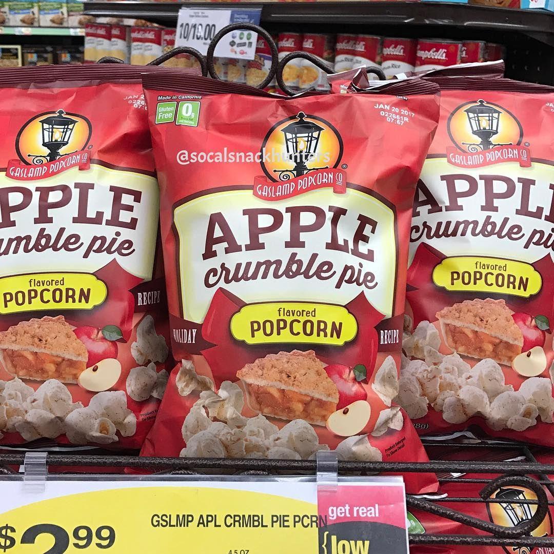 Gaslamp Gaslamppopcorn Ralphs Apple Crumble Pie Applecrumblepie Popcorn Socal Snack Snacks Snackporn Snackfood Junkfood Fall2016 Halloween