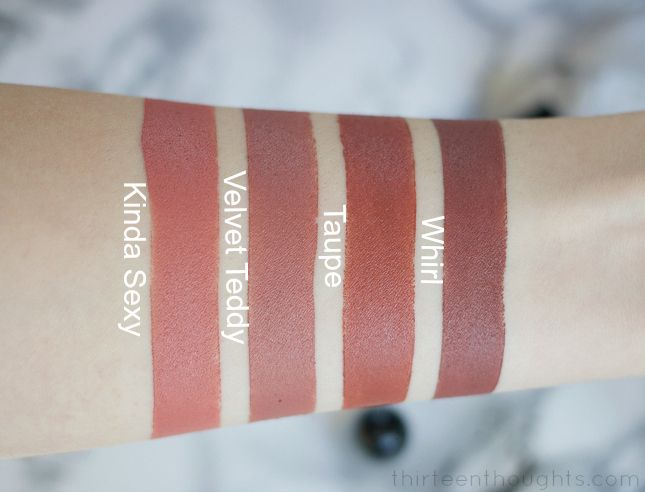mac matte lipstick taupe review
