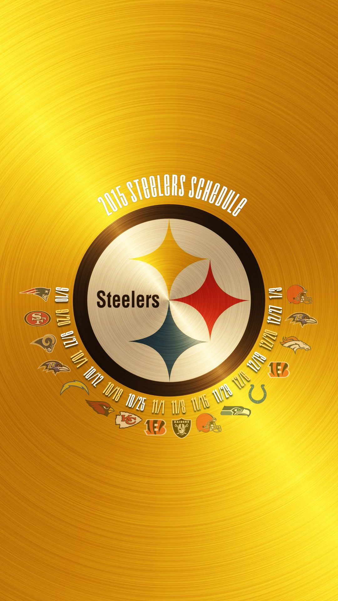 STEELERS 2015 SCHEDULE WALLPAPER Pittsburgh steelers