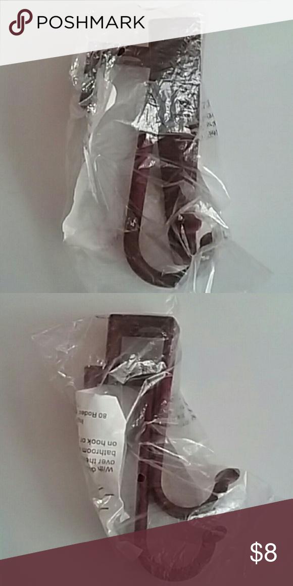 Joy Mangano Huggable Hooks Joy Mangano Huggable Hooks. Burgundy. Over-the-door hooks. Joy Mangano Accessories