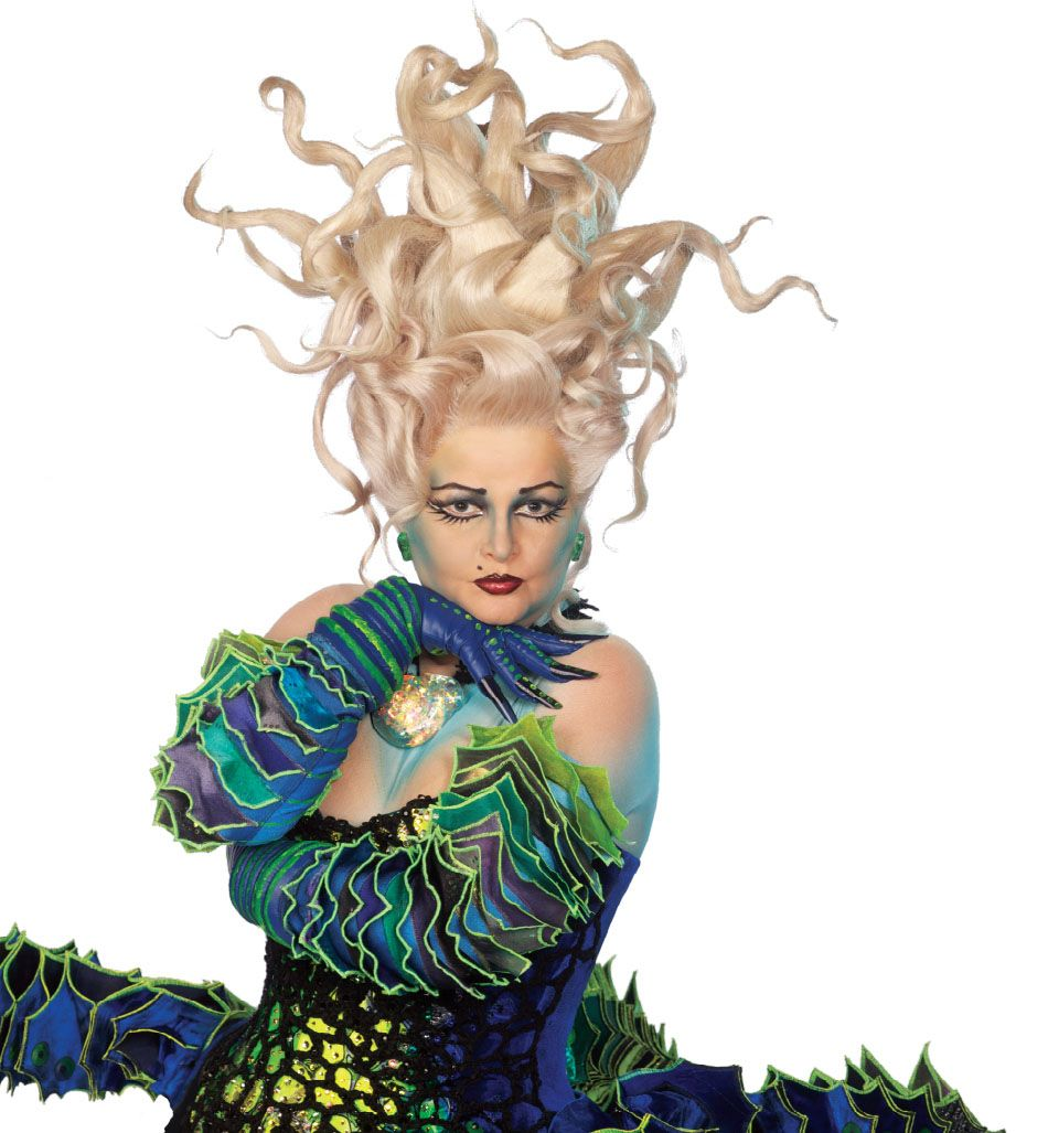 Ursula from The Little Mermaid on Broadway | Hair | Pinterest ...