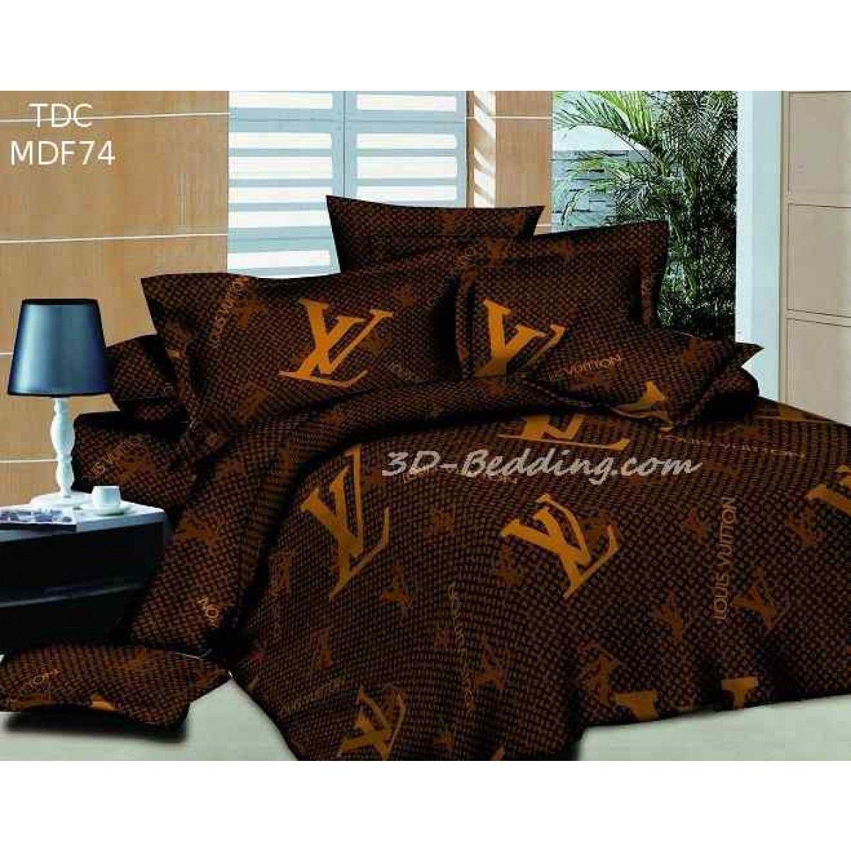 Louis Vuitton Bedding 3d Louis Vuitton Lv Design Bedding Set 4pcs Queen Set Egyptian Bedding Sets Bedding Set Modern Bedroom Set