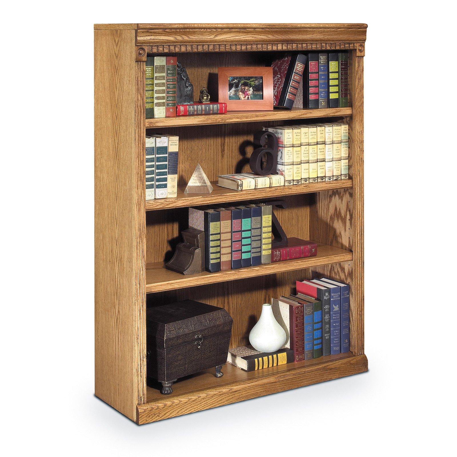 Martin Furniture Huntington Oxford Wood Bookcase Wheat Martin