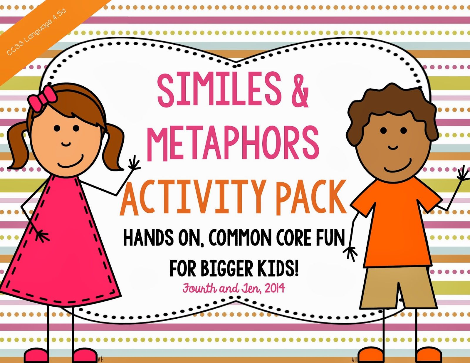 Similes And Metaphor Activities On Tpt And A Freebie For