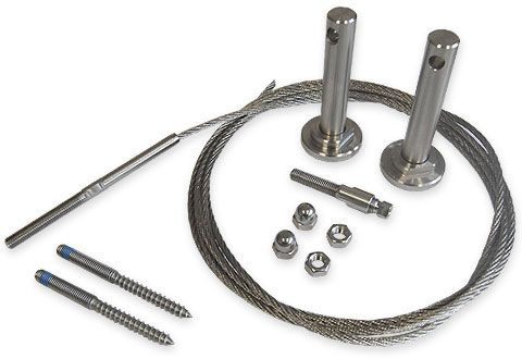 Stainless Steel Trellis Training Wire Kit